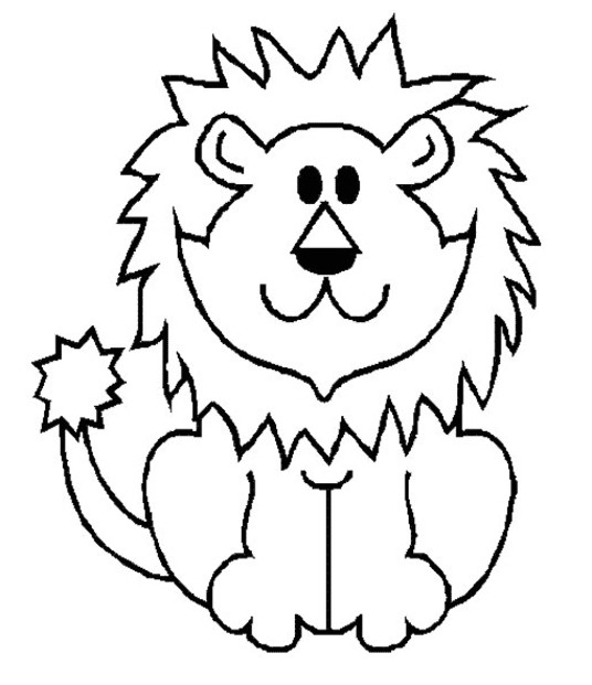 Coloriage lion et tigre - Photo de lion a imprimer en couleur ...