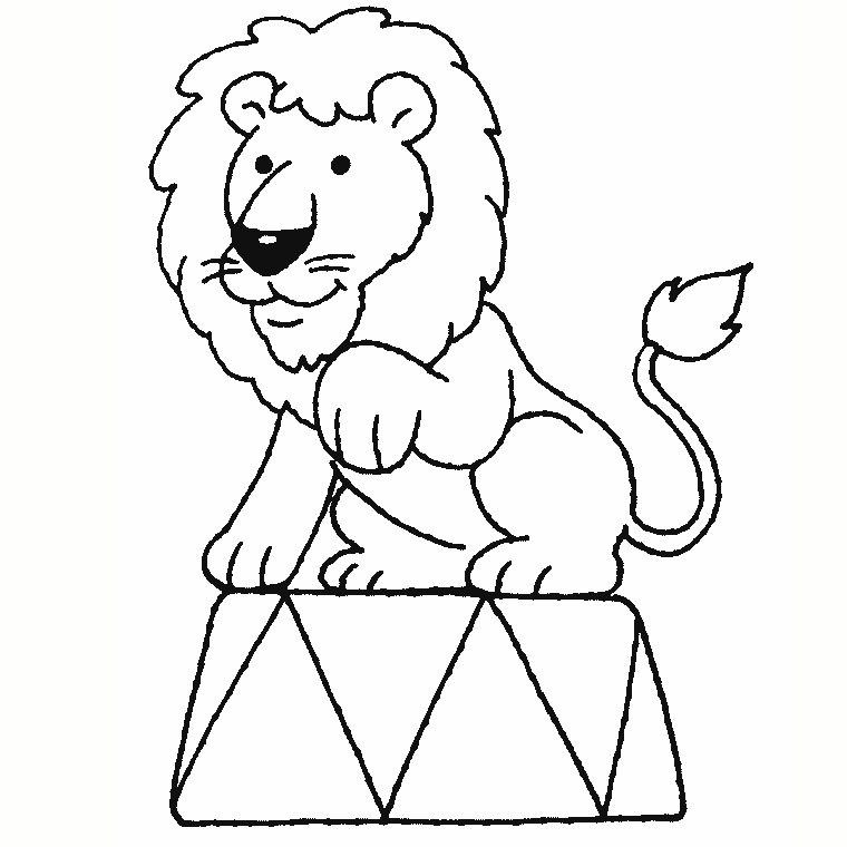 coloriage simba roi lion
