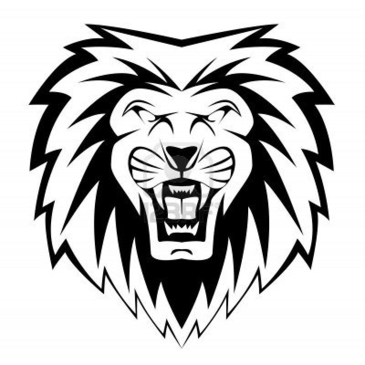 dessin � colorier lion cirque