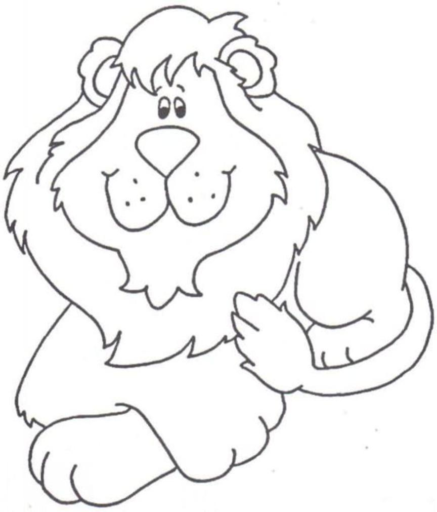 dessin lion blason