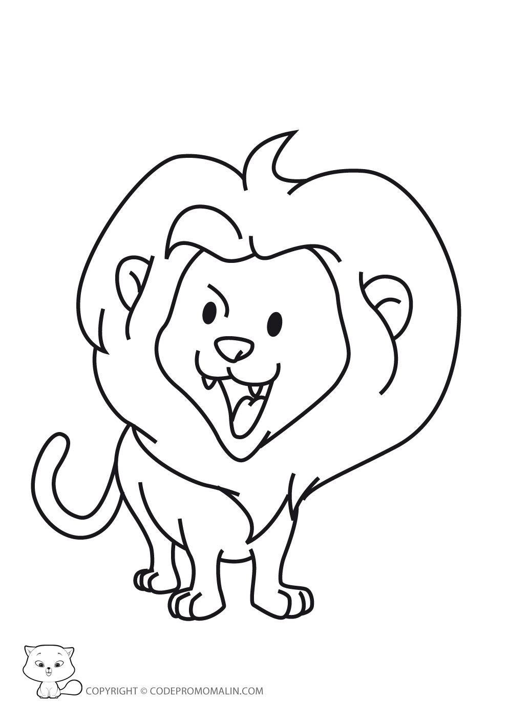 Inspirational coloriage lion imprimer belle coloriage - Dessin le lion et le rat ...