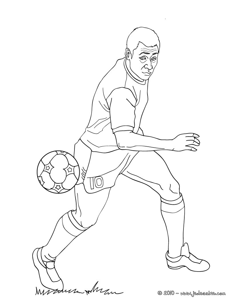 20 dessins de coloriage lionel messi imprimer - Dessins de football ...