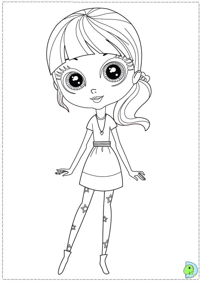 11 dessins de coloriage littlest petshop a imprimer imprimer - Coloriage pet ...