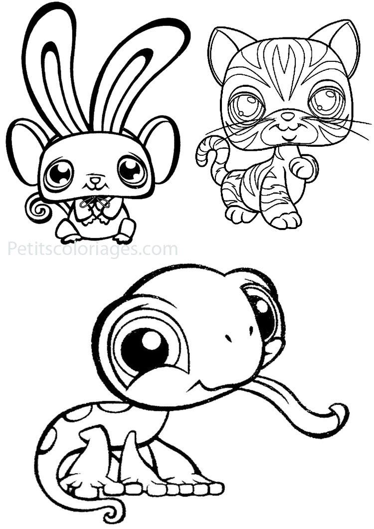 11 dessins de coloriage littlest petshop a imprimer imprimer - Dessin imprimer ...