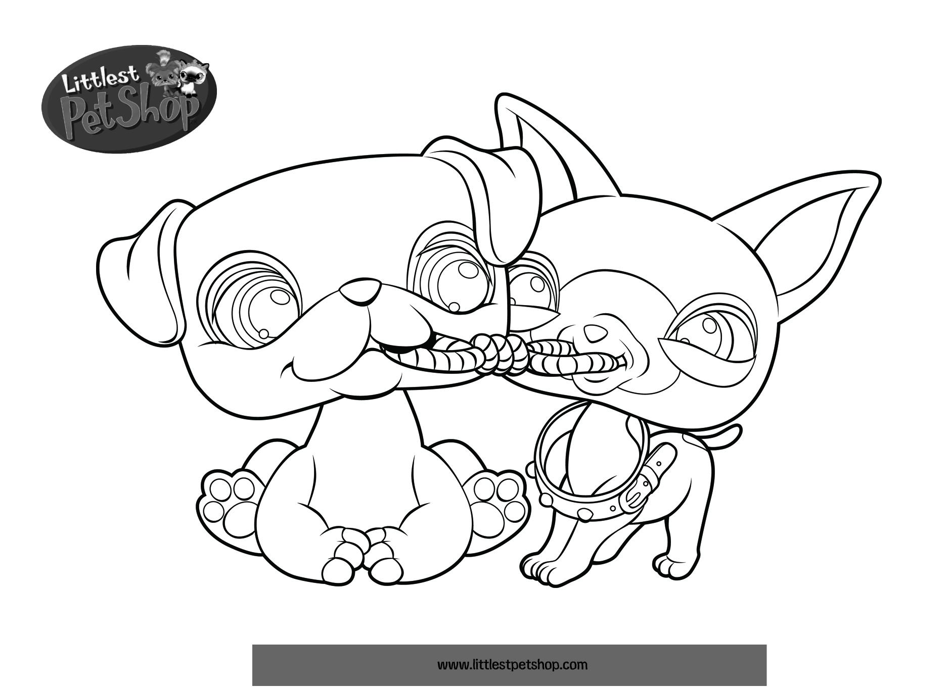 11 dessins de coloriage littlest petshop a imprimer imprimer - Dessin de martine a imprimer ...
