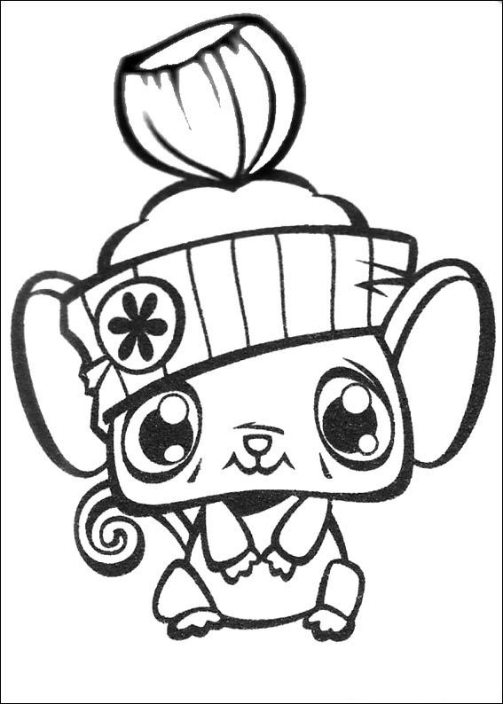 dessin littlest pet shop à imprimer