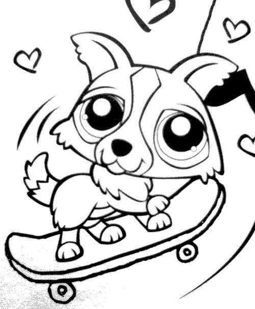 53 dessins de coloriage littlest petshop imprimer - Petshop coloriage ...
