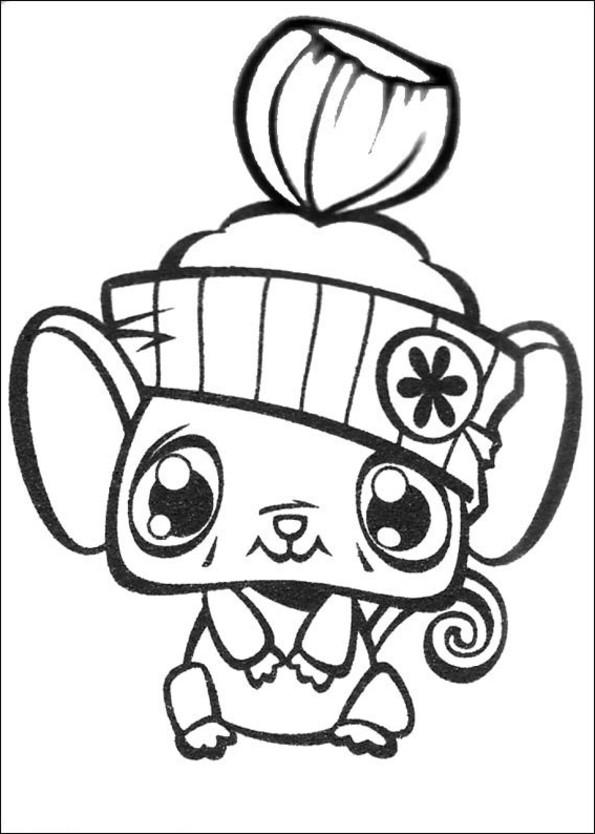 53 dessins de coloriage littlest petshop imprimer - Petshop a colorier ...