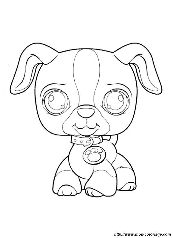 dessin littlest petshop a imprimer