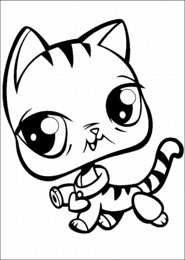 coloriage littlest pet shop en ligne