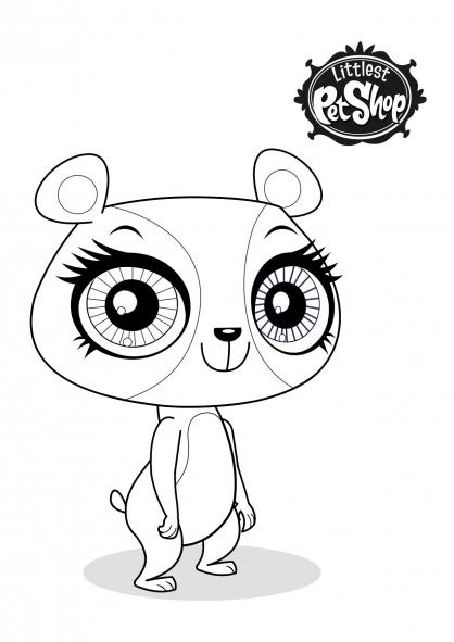 dessin littlest pet shop blythe