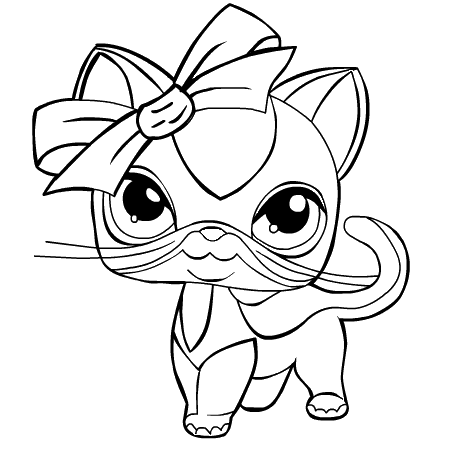 littlest pet shop coloriage