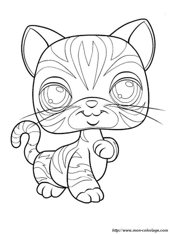 littlest pet shop coloriage à dessiner