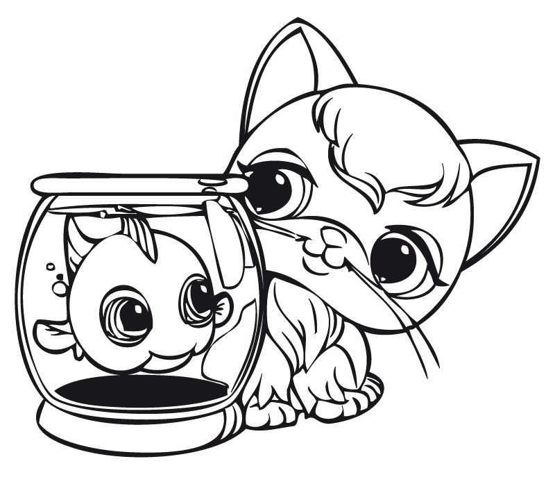 littlest petshop dessin gratuit