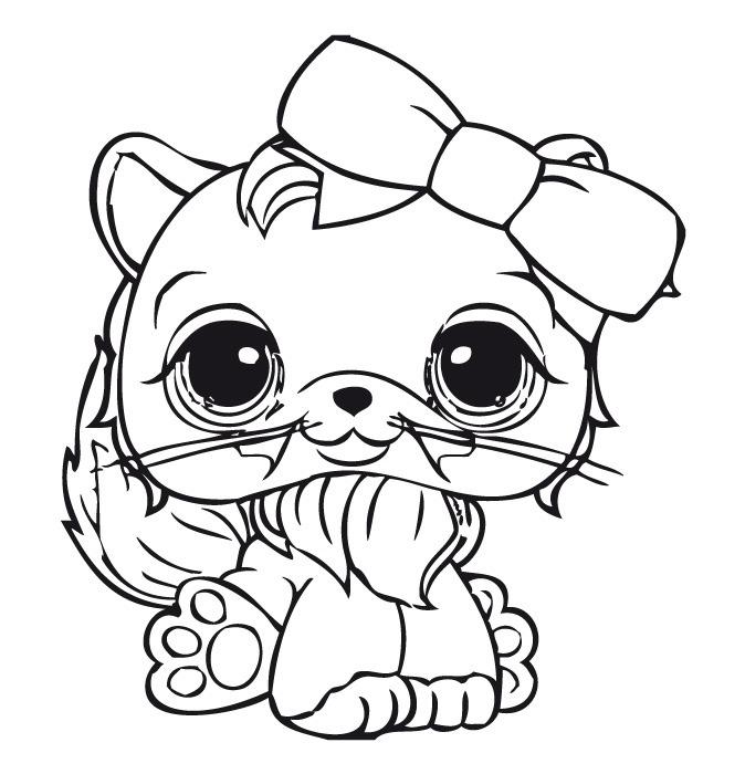 dessin de littlest petshop