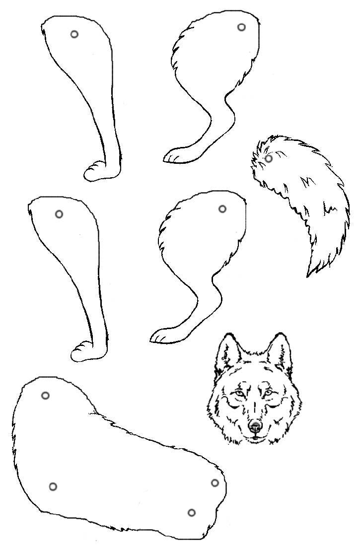 19 dessins de coloriage loup maternelle imprimer - Coloriage bricolage ...