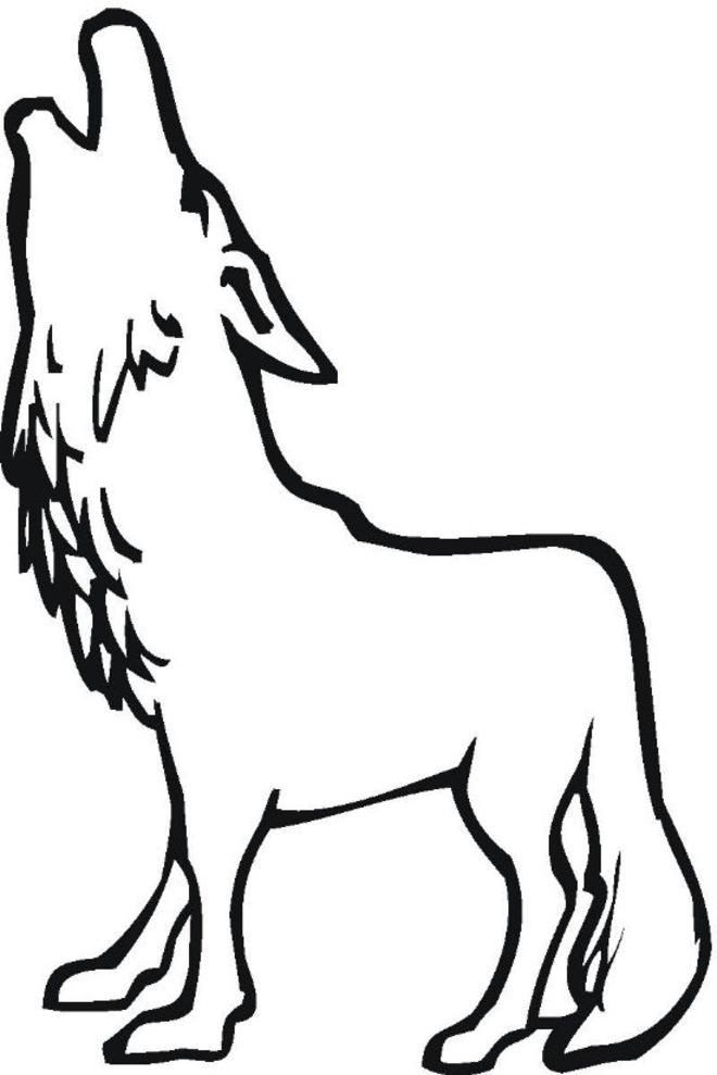 dessin le loup qui voulait changer de couleur maternelle