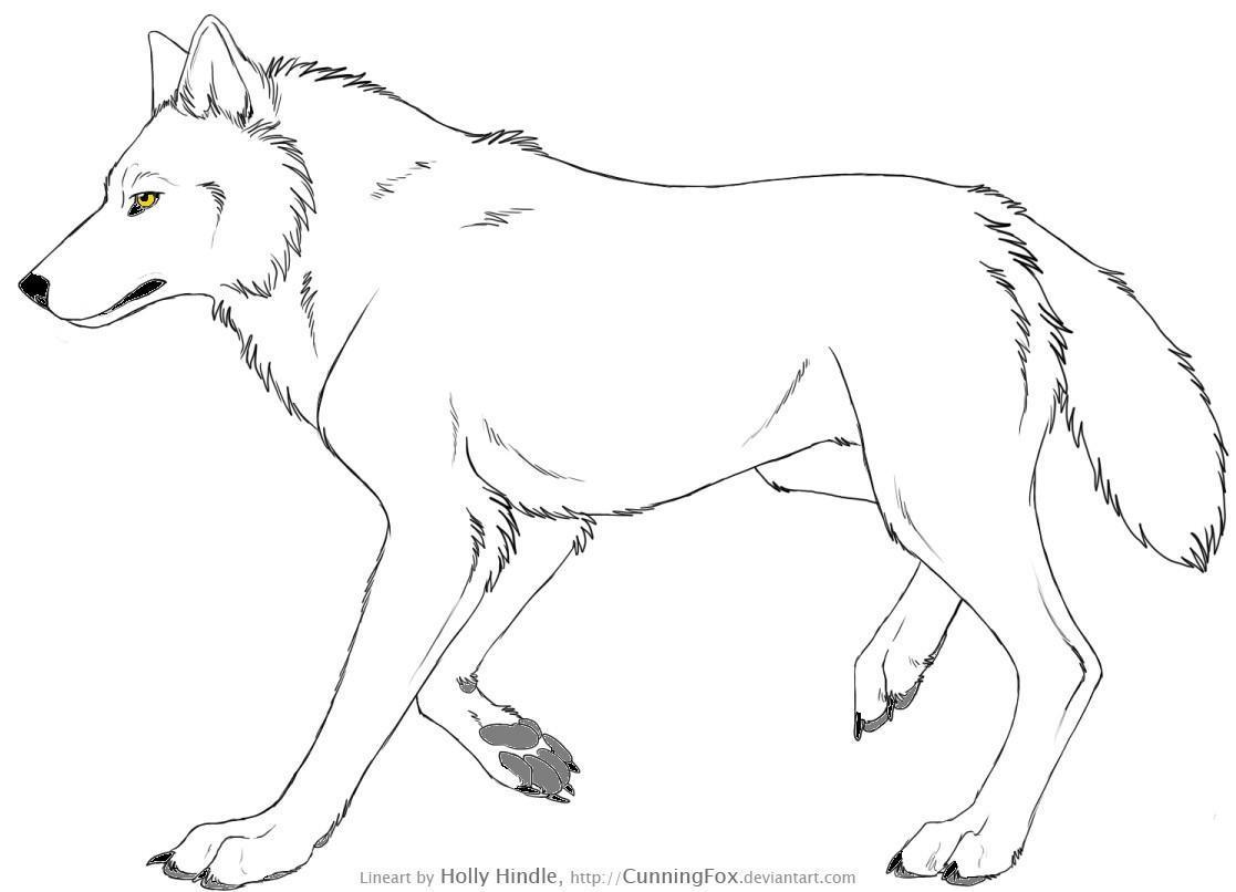 119 dessins de coloriage loup imprimer - Petit loup dessin ...