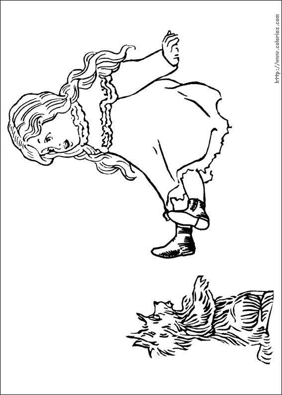 13 dessins de coloriage magicien d 39 oz imprimer - Coloriage le magicien d oz ...