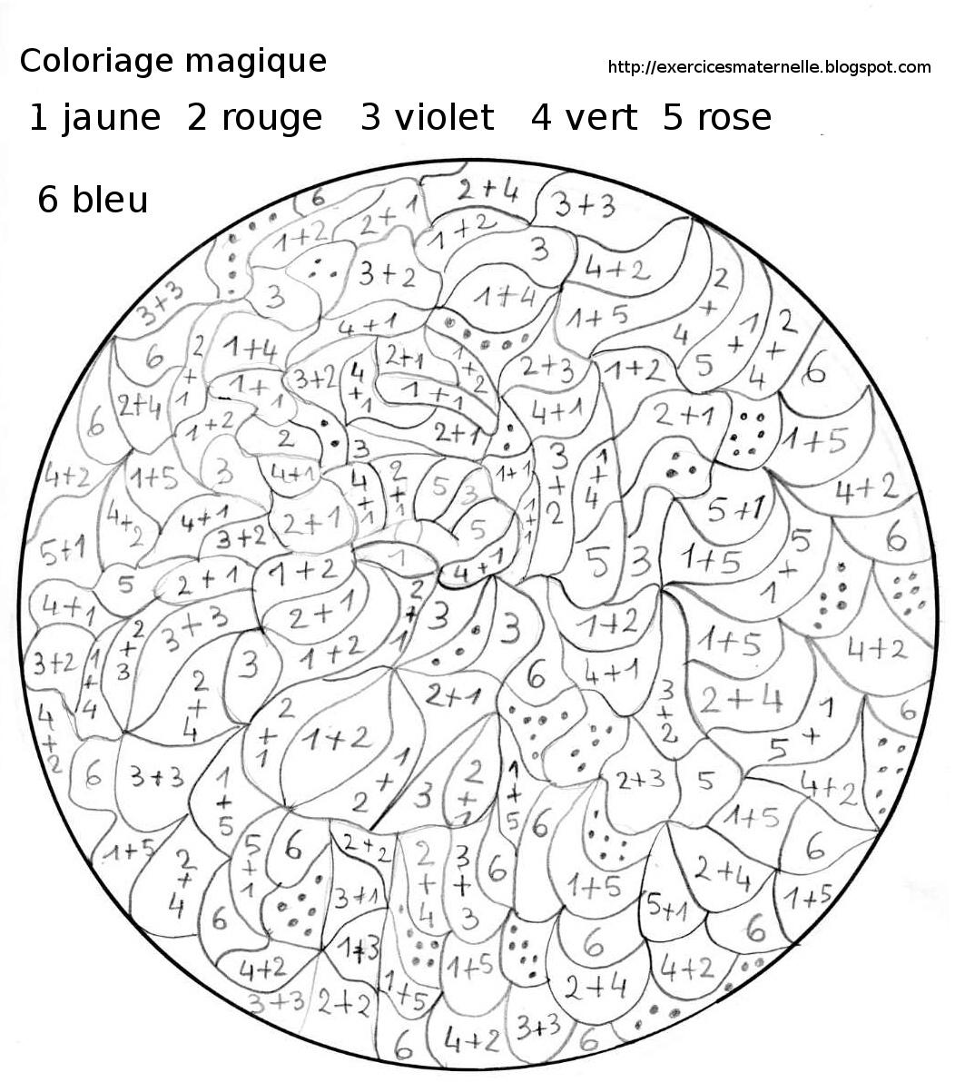 Dessin colorier magique ce1 de noel - Coloriage magique cycle 2 ...