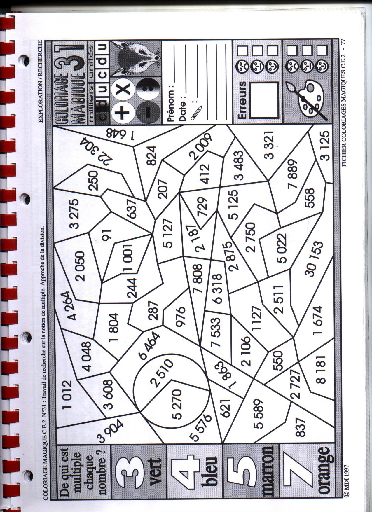 dessin magique ce2 géométrie