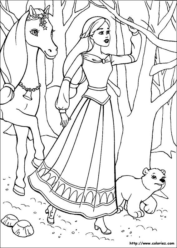 coloriage à dessiner magique de chevaux cm2