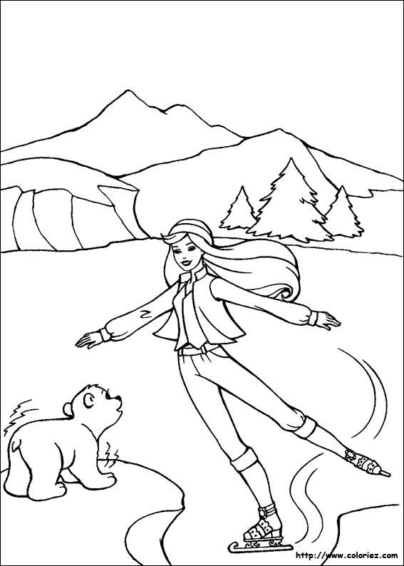 coloriage à dessiner magique cheval à imprimer