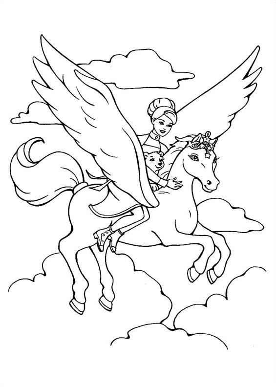 dessin magique cheval pour cp