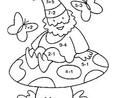 Coloriage Soustraction Cp A Imprimer.Coloriage Magique Cp Additions Et Soustractions