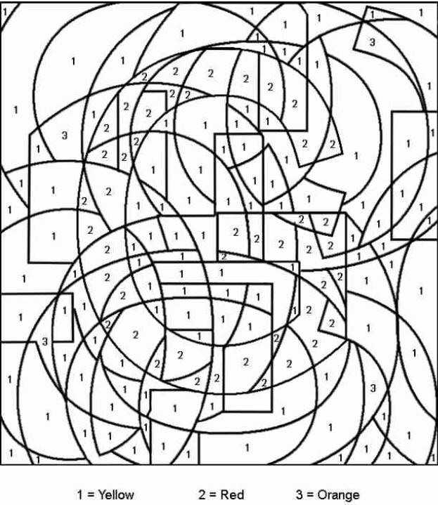 dessin à colorier magique cp complément à 10