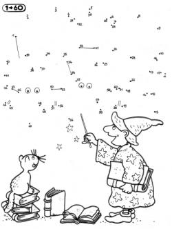 dessin à colorier magique noel cp gratuit