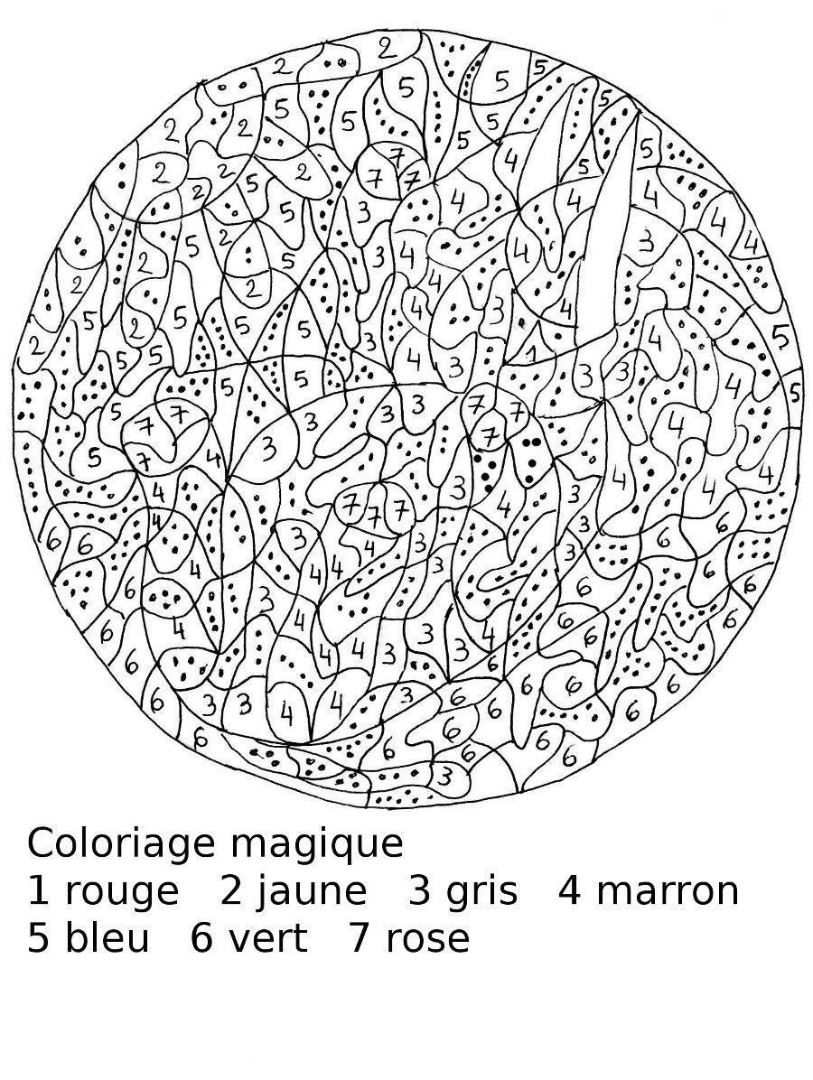 dessin magique difficile cm1