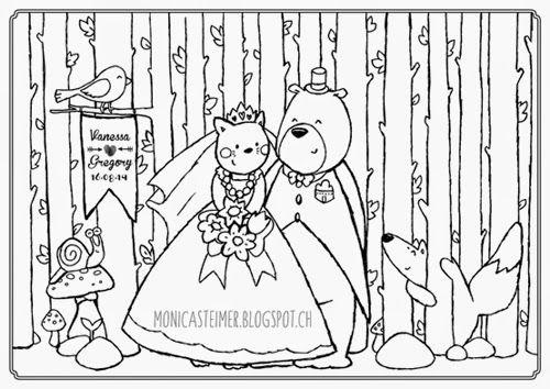 Set de table a colorier pour mariage set de table pour les enfants un mariage top 3 des - Coloriage fete foraine ...