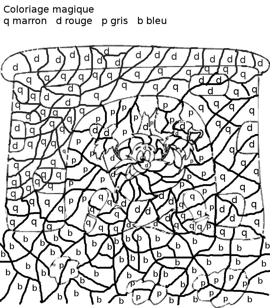 97 dessins de coloriage magique fourmi imprimer - Coloriage magique tables de multiplication cm1 ...