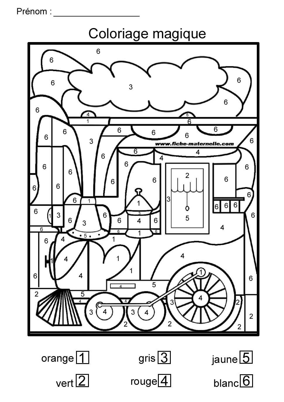 24 dessins de coloriage magique gs imprimer - Coloriage magique gs ...