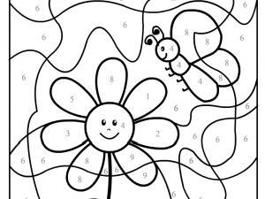 coloriage à dessiner magique maternelle grande section a imprimer