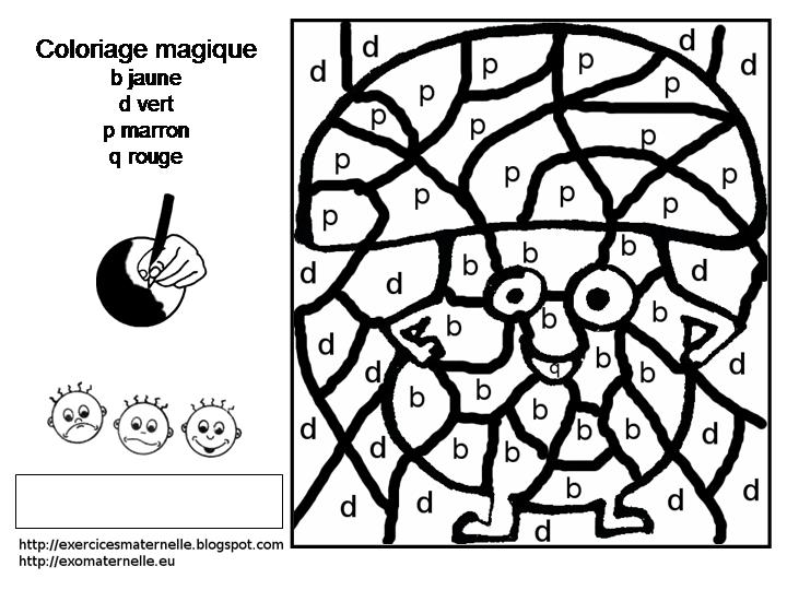 coloriage magique maternelle ferme