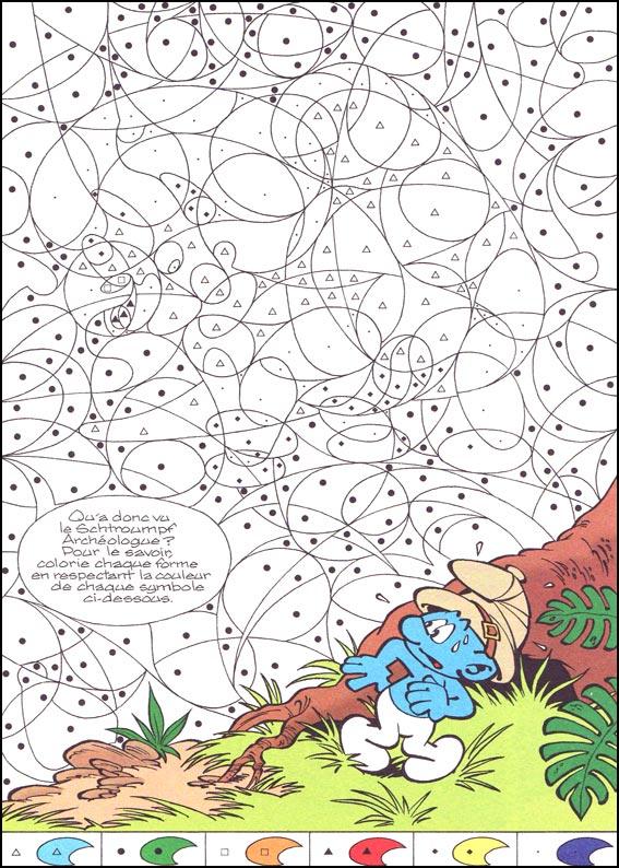 dessin à colorier magique theme noel