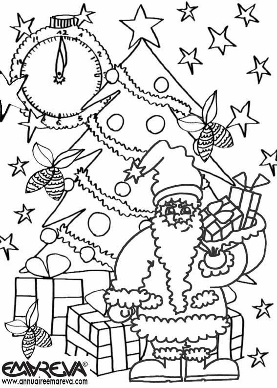 30 dessins de coloriage magique no l imprimer - Coloriage magique pdf ...