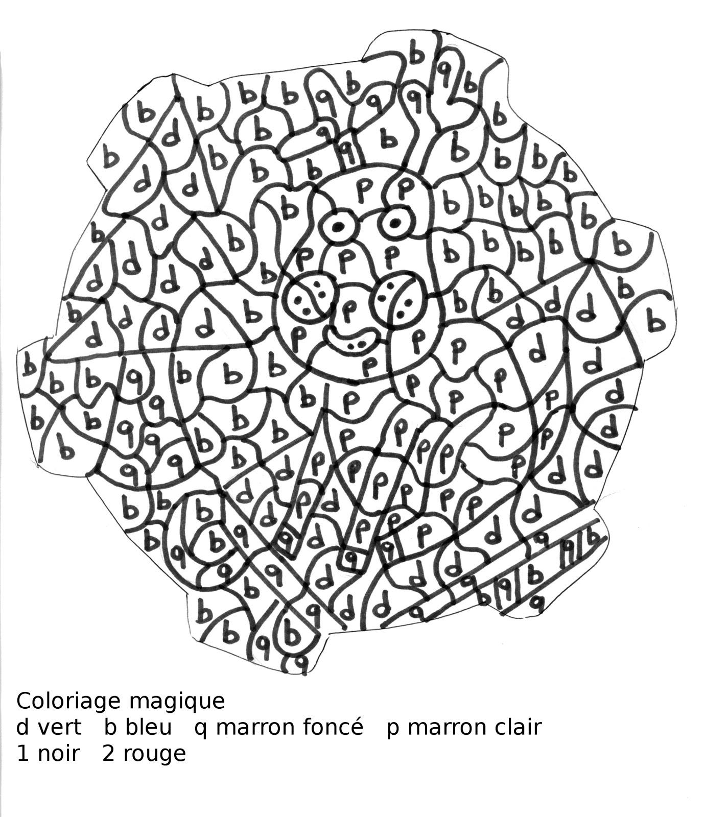 coloriage magique noel petite section