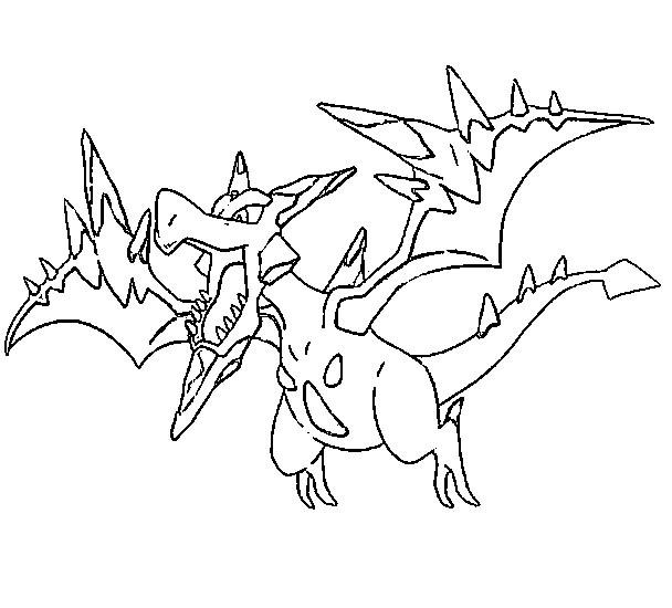 coloriage à dessiner magique pokemon x et y