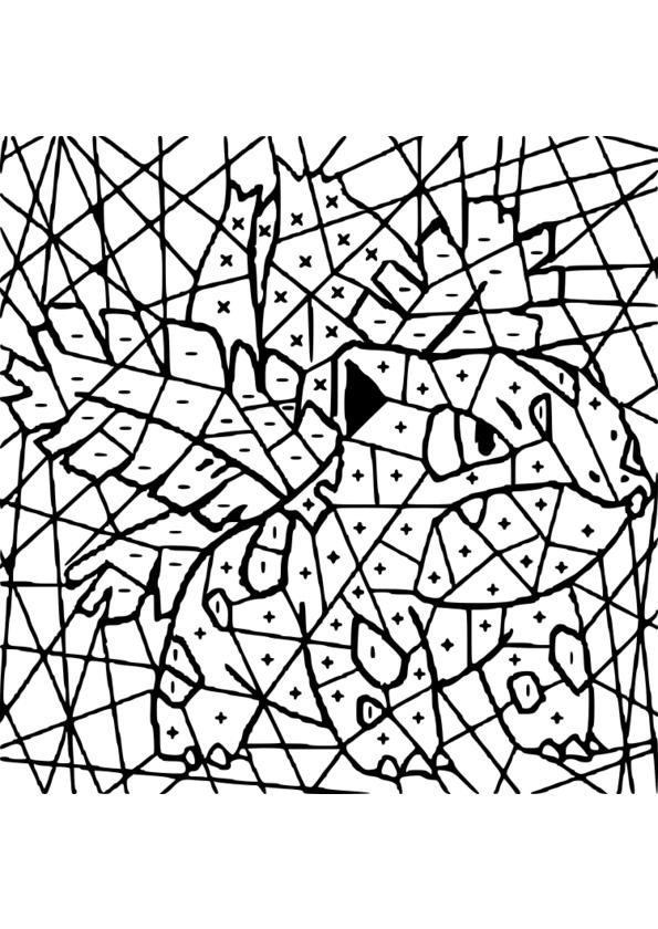 coloriage magique 3 groupes verbes