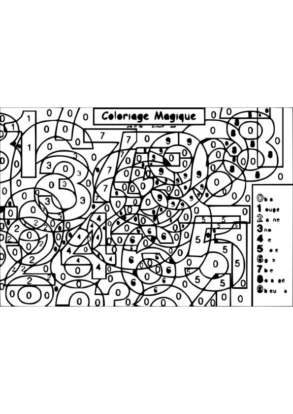 coloriage magique 4 ans