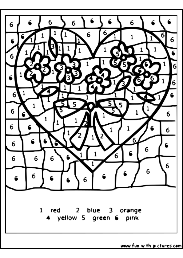 coloriage magique formes géométriques