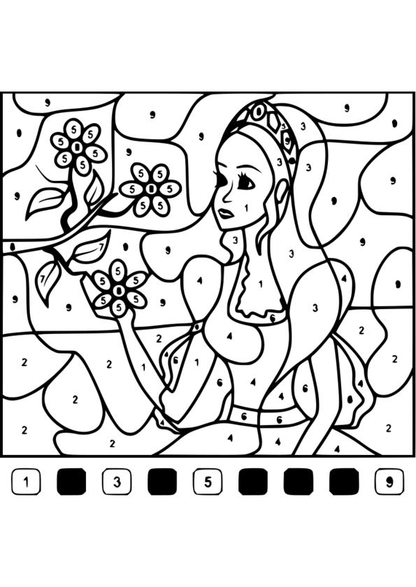 coloriage magique 27