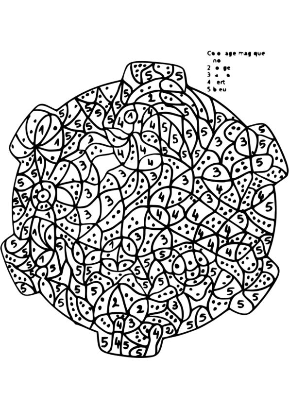 coloriage magique reconnaissance de lettres