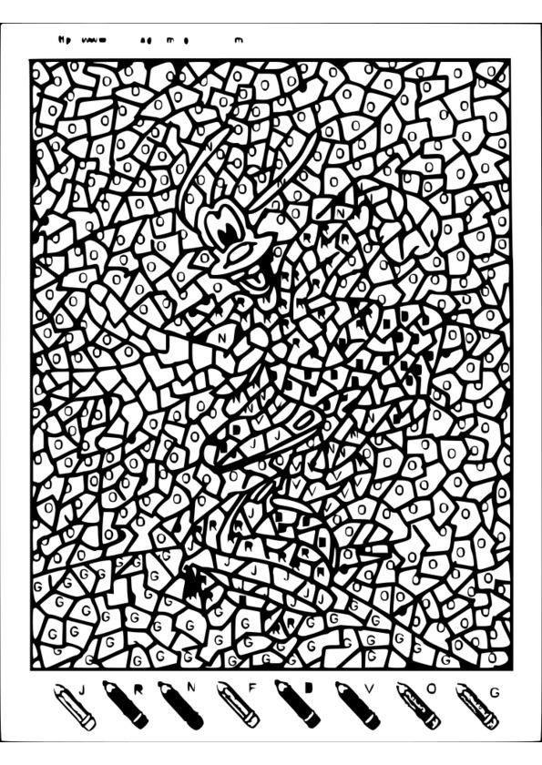 185 dessins de coloriage magique imprimer - Coloriage magique mario ...