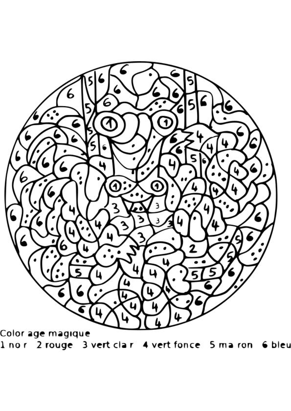 imprimer coloriage magique multiplication