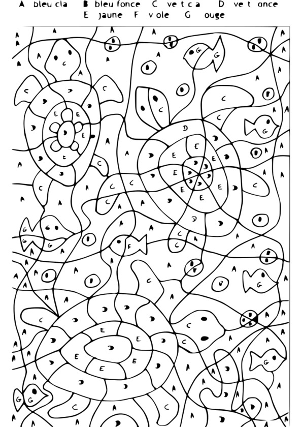 ce1 coloriage à dessiner magique