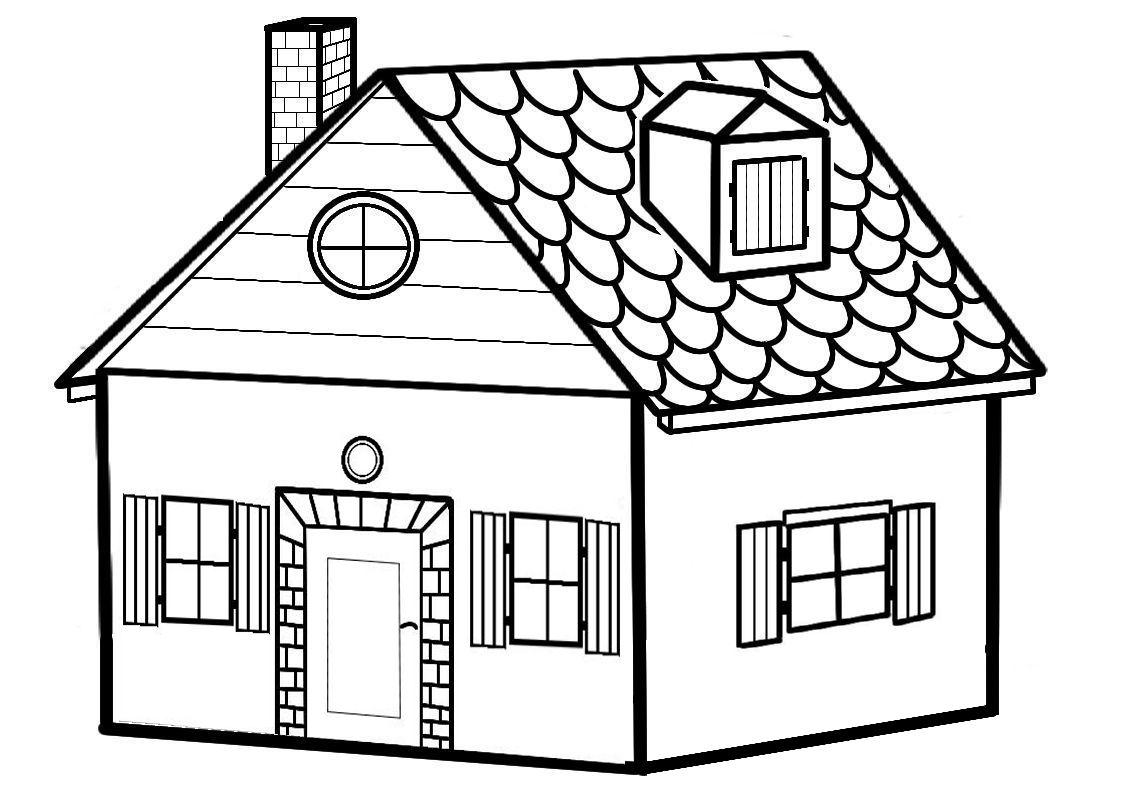 coloriage maison sorciere
